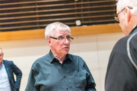 PARKOMETER: Kjell Ivar Ødegård i Rambøll presenterte sine tankar på eit seminar om parkeringsordning i Førde.