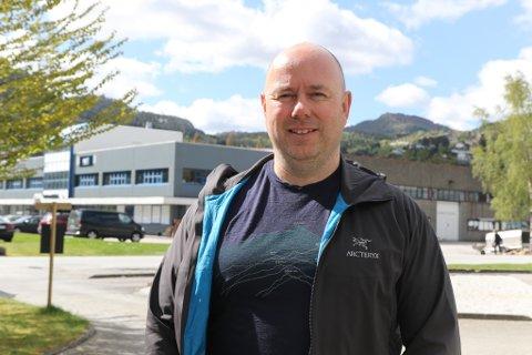 STYRELEIAR: Geir Opseth er leiar i Førde Industri- og næringssamskipnaden (FINS), og styreleiar i det nye selskapet FINS AKTIVITET AS.