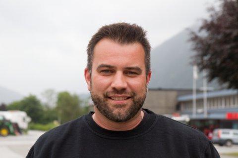 GLEDELEG: Styreleiar Arild Tistel i Pikant ser fram til å opne dørene og tilby full matservering med alkohol attåt.