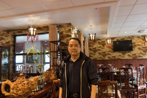 STENGER: Kinarestauranten Bambus stenger i dag, og vil i første omgang ha steng fram til 26. mars.