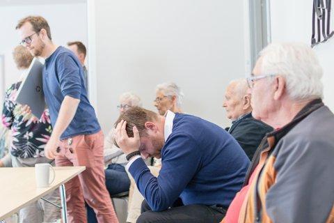 MÅ VENTE: Kenneth Nakken, prosjektleiar i Nordic Rutile AS, ventar på at kommunestyret skal behandle detaljreguleringsplanen for Engebø. Politikarane valde å sende saka tilbake til administrasjonen for meir utgreiing.