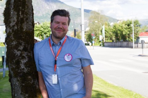 DIREKTØREN: Per Idar Almås, direktør for Førdefestivalen under fjorårets festival.