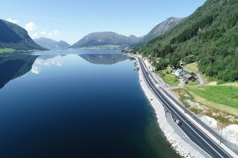 E39 Årdal - Skei
