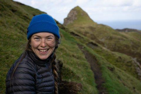 SJEFEN: Sigrid Skjerdal (28) går frå å nytte fritida på festivalarbeid, til å vere i full jobb som festivalsjef.