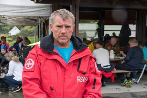 TAKKSAME: Arne Inge Synnevåg, svoger og talsmann for familien til den sakna Bjørn Ove Steig, seier at familien er veldig takksame for all støtte dei får.