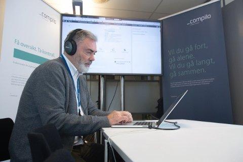 HAR SELT BEDRIFTA: John Tonheim har selt Compilo AS til svenske Confirma Software. Kva han fekk for bedrifta vil han ikkje ut med.