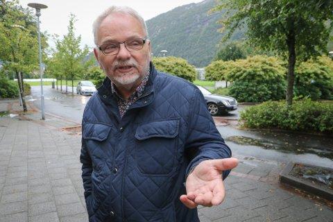 LOKALLAGSLEIAR: – Frp har fått gjennomslag for mange saker. Men regjeringssamarbeidet har kosta oss for mykje, seier Terje Helgheim.