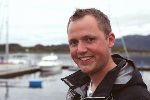 Terje Svardahl er leder i fellesutvalget for øyene i Florabassenget, prosjekt Øyane