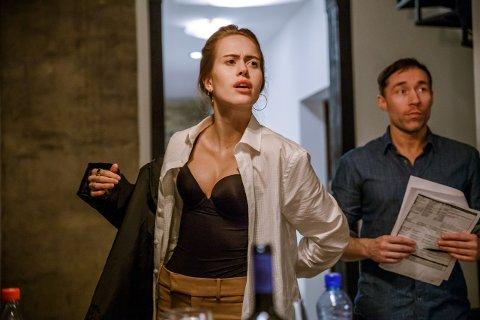 NY UTFORDRING: I haust blir Kristine Ullebø å sjå i spelefilmen Swingers på kino.