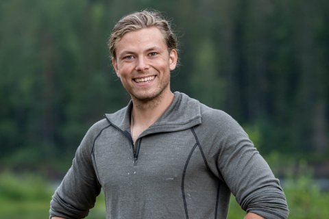 FARMEN: Erik Rotihaug (24) er frå Nordfjordeid og er med i årets Farmen på TV2.