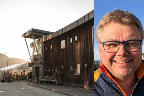 NÆRMAR SEG OPNING: Restauranten Pikant på sørsida fekk ikkje budsjettet til å gå opp og la ned 1. september i fjor. I desember blei det kjent at Hugo Mølmesdal (på bildet) fem andre lokale investorar skal drive restauranten vidare.