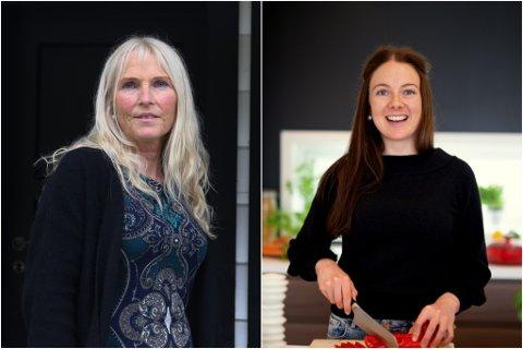 NOMINERTE: Nina Skjærli og Linda Stuhaug nominert i kvar sine kategoriar under Vixen Awards. Om dei får nok stemmer frå folket og juryen kan dei gå heilt til finalen.