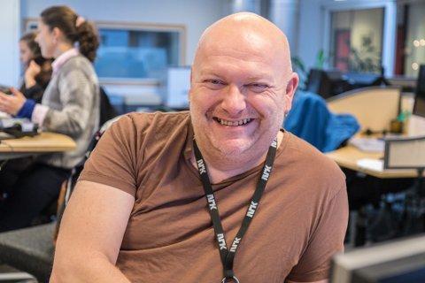 GODT LIV: Geir Bjarte Hjetland er open om at han slit med angst, men at livet kan vere veldig godt å leve. - Men det krev ein del jobb, seier han.