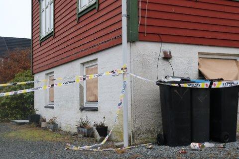 ÅSTAD: I dette huset skjedde knivdrapet i november 2019.