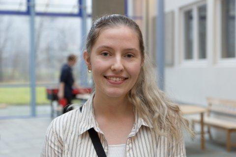 TENKT LENGE: Alida Sørensen Solheim har tenkt i åtte år på utdanning, men var ikkje sikker før etter eit besøk til Trondheim.