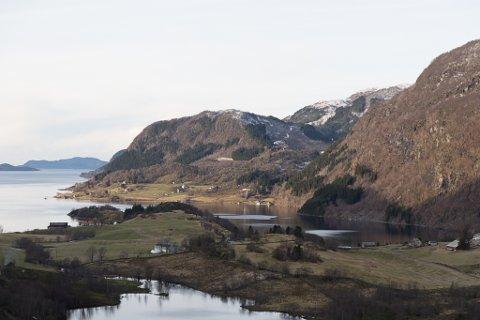Engebøfjellet der Nordic Mining skal drive gruve.