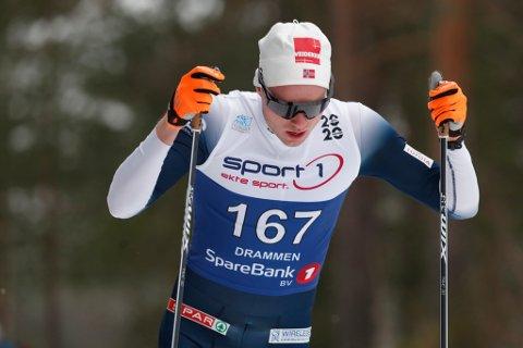 SKUFFA: Gjøran Holstad Tefre er lei seg over at han ikkje får moglegheit til å vere ein del av rekruttlandslaget. Bildet er frå 15 km menn fristil i NM på ski i Konnerud i vinter. Foto: Terje Bendiksby / NTB scanpix