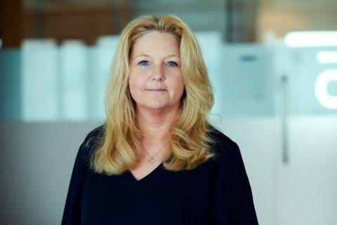 HEADHUNTER: Kathe Arnesen (49) sat i Oslo og fann draumejobben i Førde. No skal ho gjere Sunnfjord attraktivt for fleire.