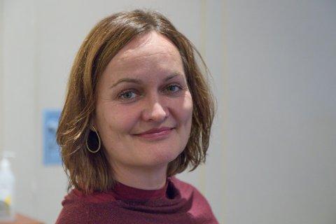 FAGDIREKTØR: Evy-Helen Helleseth blei fast tilsett som fagdirektør i Helse Førde i juni. No går ho tilbake til den gamle jobben sin.