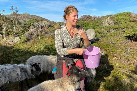 KYSTLANDSKAP: Trude Johansen Søilen er styreleiar i Sognefjorden Kystpark.