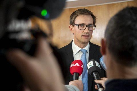 Politiadvokat Jørgen Henriksen i Vest politidistrikt.