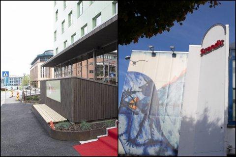 KORONAHOTELL: Det vart rekning i millionklassen etter at 80 Havyard-arbeidarar sat i karantene på Sunnfjord Hotel i Førde og Citybox Danmarks plass i Bergen.