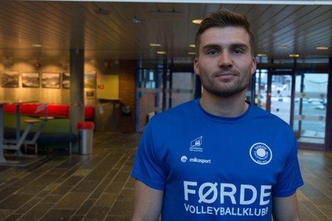 NY: Bjarne Nikolai Huus er det nyaste tilskotet i satsinga mot å rekruttere nye elitespelarar til elitelaga.