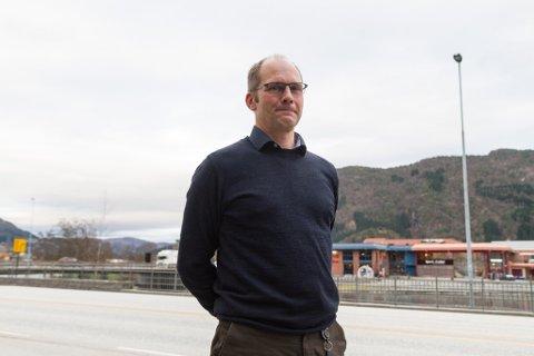 MISNØGD: Oddmund Klakegg er skuffa etter at regjeringa ikkje fann plass til dei rasutsette områda Våtedalen og Skjersura i NTP.