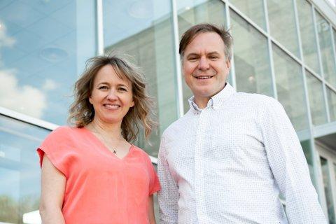 NOMINERT: Gunhild Berge Stang og Alfred Bjørlo toppar Venstre-lista.
