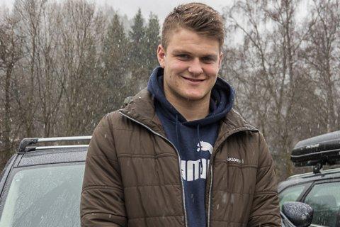 NY PRØVE: Håvard Hetle vart overraska med U21-plass på landslaget nyleg. Han gler seg til å teste seg mot langt eldre landslagsspelarar.