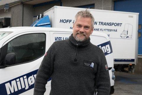 TØFF KONKURRANSE: Arild Hoff i Hoff & Knutson, seier det er ein hard konkurranse om oppdraga. Dei har sjølv greidd å skaffe seg nye kontrakter det siste året, men ikkje alt har gått rette vegen heller.