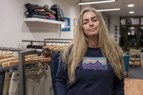 STENGER:Etter å ha gått mange rundar med seg sjølve, har Hilde Marie Skaaheim bestemt seg for å stenge klatrebutikken Opp og Ut. No ventar ein spennande ny jobb.