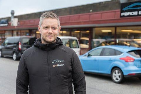 SOLID RESULTAT: Dagleg leiar og aksjonær Geir Thomas Espe i Førde Bilsalg er godt nøgd med årsrekneskapen for 2020.