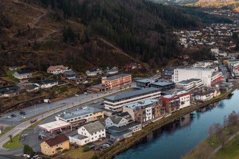 DYRAST: Nyare leilegheiter i Førde vert nokre av dei dyraste objekta for eigedomsskatten.