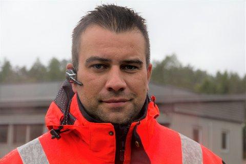 FISJON: Arild Tistel (40) sitt FØRDE BILBERGING AS har fisjonert ut det nystifta selskapet hans TMU AS.