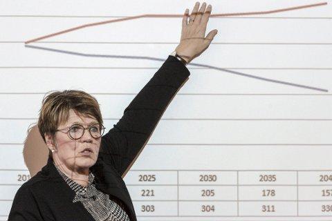NEDGANG: Rådmann Bente Nesse i Fjaler seier at elevtalet  i Guddalen går frå 17 til 4 elevar på to skuleår. ARKIVFOTO.