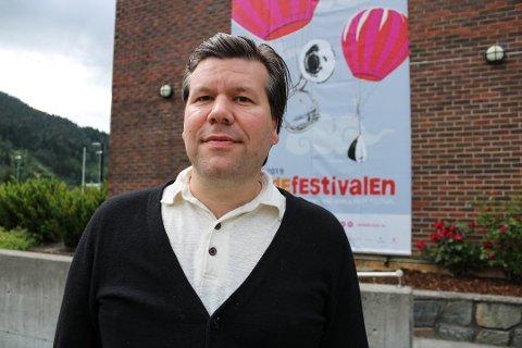 FESTIVALDIREKTØR: Per Idar Almås blei festivaldirektør for Førdefestivalen i 2019.