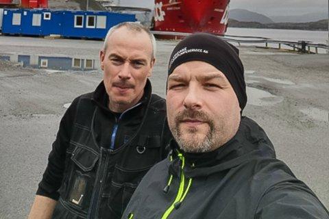 TO TILSETTE: Dagleg leiar Thomas Grepstad (40) og tilsett Jøran Viken (44) i Fjordane Varmepumpeservice.