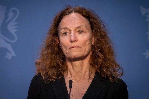 Direktør ved Folkehelseinstituttet, Camilla Stoltenberg, seier at koronaepidemien er under kontroll, men framleis er det stort sannsyn for spreiing.