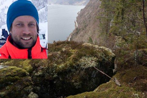STEMMER: - Det som de har sett i Skredvika stemmer bra med inntrykket me har av situasjonen, skriv geolog Jens Tveit i  Statens vegvesen til Firda.