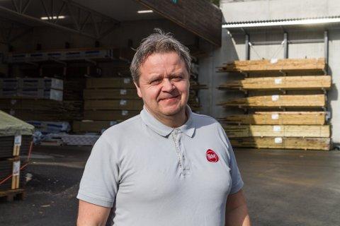 PÅ TOPPEN: Byggmakker Bruland vart beste butikk i kjeda si i 2020.