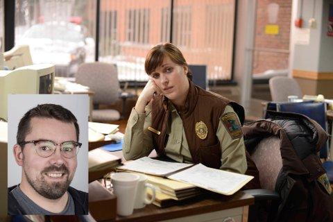 POLITI I PARKAS: Det er nærpolitiet som er helten i serien Fargo, mellom anna skodespelar Allison Tolman som politibetjent Molly Solverson.