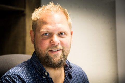 HAR NOK Å GJERE: Dagleg leiar i Norse Feedback, Joachim Vie, fortel om eit omfattande prosjekt som har skote fart den siste tida. Med dei to nye utviklarane skal dei betre produkta sine.