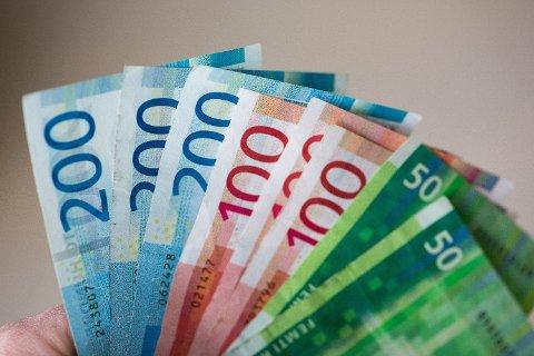 FERIEPENGAR: I mai og juni blir feriepengane du tente opp i fjor utbetalt. Foto: Alexander Winger (Nettavisen)