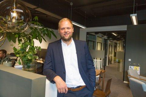 DAGLEG LEIAR: Joachim Vie har vore dagleg leiar for Norse Feedback sidan 2018. Tidlegare har han mellom anna jobba i reklamebyrået Rein Design.