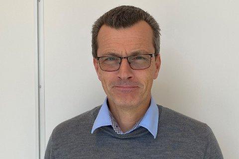 NYESJEFEN: Richard Cornell begynte som administrerande direktør i Østerbø Maskin AS for ein dryg månad sidan.