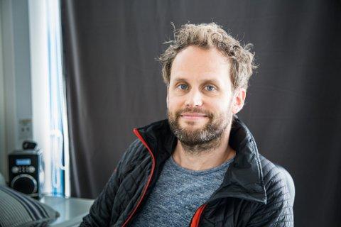 NØGD: Dagleg leiar Håvard Nesse Røneid er nøgd med resultata frå 2020 og ser fram mot å jobbe vidare med utvikling av senteret.