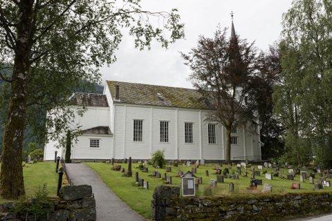 BYGGEPLANAR: Dersom planane blir vedteke, skal Førde kyrkje gjennom ein ombygging i 2021. Dette er for å gjere kyrkjelydshuset meir tilrettelagt for personar med handikap.