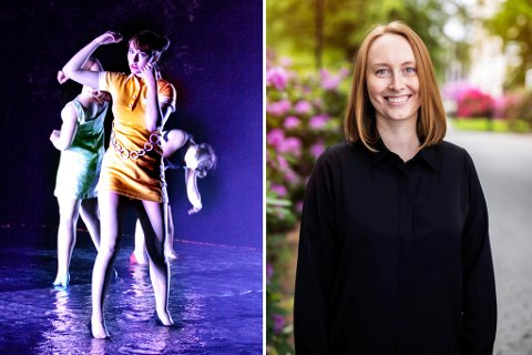 SVÆRT ULIKE FAG: Agnes Elisabeth Nystad var først ballettdansar, før ho no har teke steget inn i medisinfaget og forskningsverda. Biletet til venstre er frå framsyninga «Elvedans».