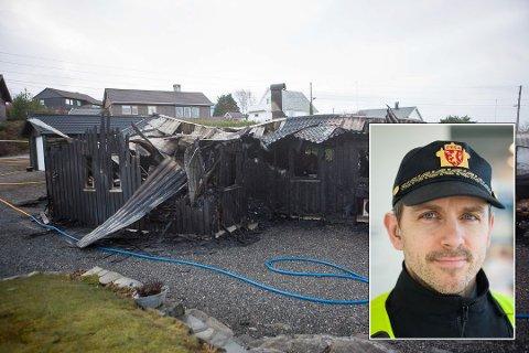 HENDELEG UHELL: Det var eit hendeleg uhell som utløyste storbrannen i Lyngvegen i februar, men ikkje av ein slik karakter at det medfører straffeansvar, konkluderer Kåre Toreid ved Florø politistasjon.